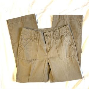Eddie Bauer Size 10 Khaki Pants EUC